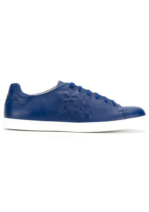 Emporio Armani lace-up sneakers - Blue