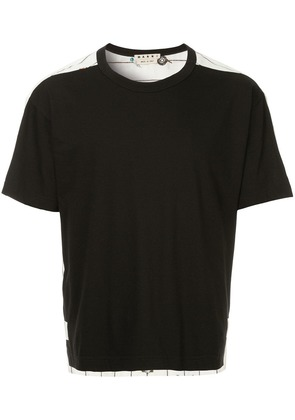 Marni printed shortsleeved T-shirt - Black