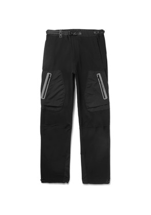 And Wander - Reflective-trimmed Shell Tapered Trousers - Black