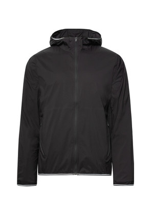 Performance Water-resistant Nylon-ripstop Hooded Jacket