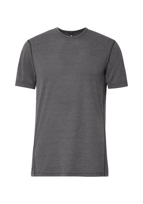 Performance Mélange Mesh T-shirt