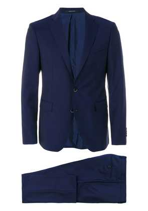 Dinner slim single breasted suit - Blue