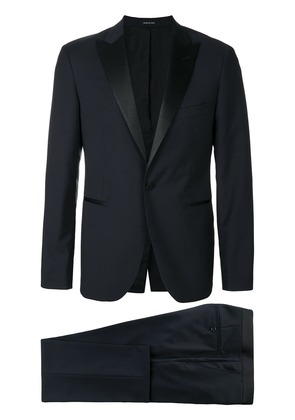 Tagliatore two-piece tuxedo suit - Blue