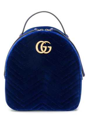 Gucci GG Marmont backpack - Blue