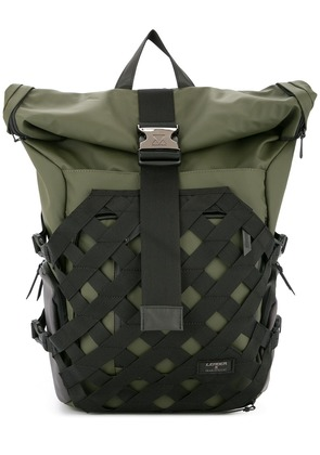 Makavelic Fearless Rolltop backpack - Green