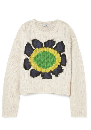 Opening Ceremony - Intarsia Wool-blend Sweater - Ivory