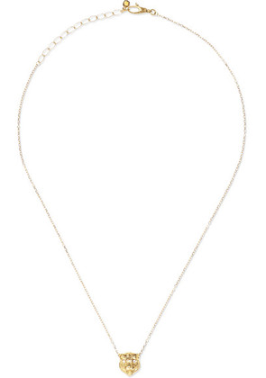 Gucci - Le Marché Des Merveilles 18-karat Gold Multi-stone Necklace - one size