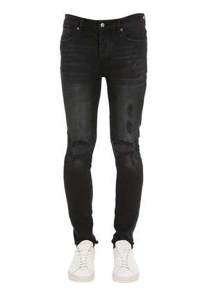 VAN WINKLE CAST IRON COTTON DENIM JEANS