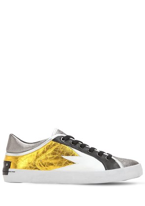 22MM FAITH LEATHER SNEAKERS