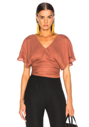 JACQUEMUS Dalil Top in Brown,Neutral