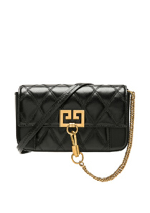 Givenchy Pocket Chain Wallet in Black