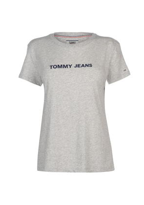 TOMMY JEANS Tommy Crew Logo T Shirt