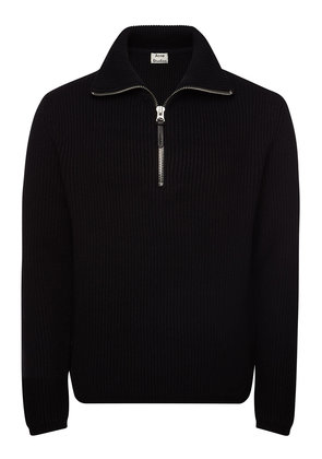 Acne Studios Wool Pullover with Zip