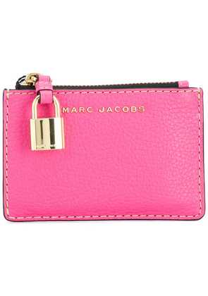 Marc Jacobs The Grind top zip wallet - Pink & Purple