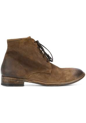 The Last Conspiracy distressed ankle boots - Brown