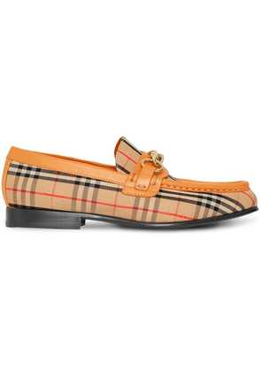 Burberry The 1983 Check Link Loafer - Yellow & Orange