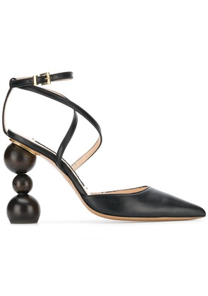 Jacquemus pointed toe pumps - Black