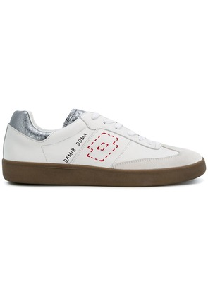 Damir Doma Damir Doma x LOTTO rounded toe lace-up trainers - White