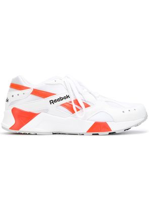 Reebok REEBOK CN7472 WHITE BLACK SOLAR OR Synthetic->Polyamide