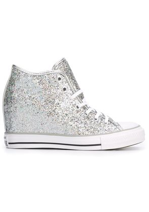 Converse high top concealed wedge sneakers - Grey