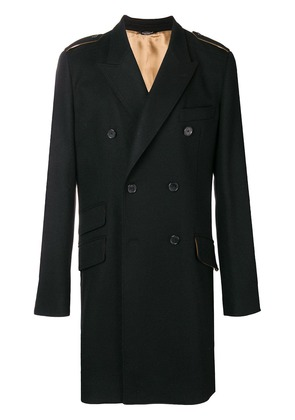Dolce & Gabbana double breasted coat - Black