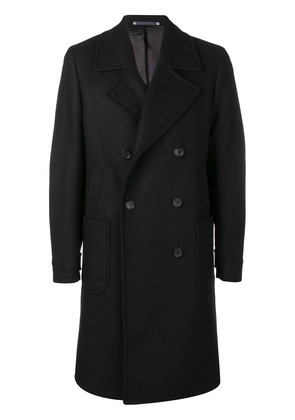 Ps By Paul Smith double breasted midi coat - Black