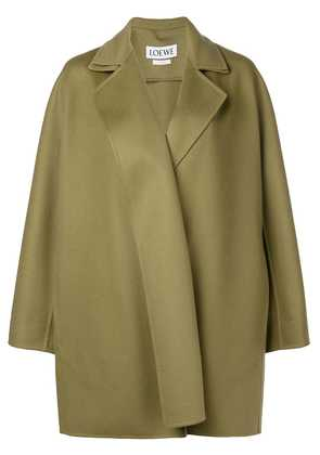 Loewe concealed front coat - Green