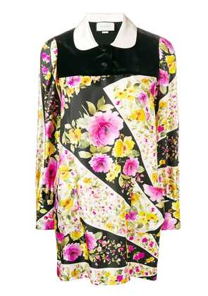 Gucci floral silk dress - Black