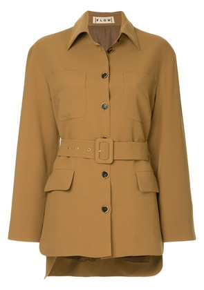 Flow The Label belted fitted blazer - Unavailable
