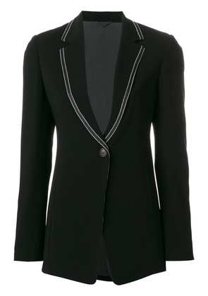 Brunello Cucinelli tailored V-neck blazer - Black