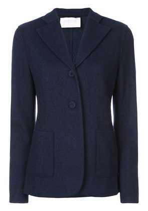 Harris Wharf London classic buttoned blazer - Blue