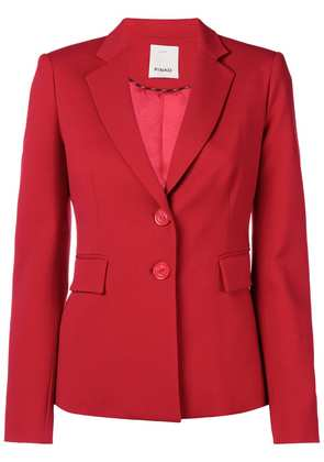 Pinko classic fitted blazer - Red