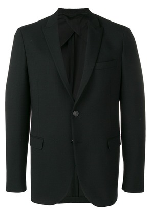Neil Barrett single breasted blazer - Black