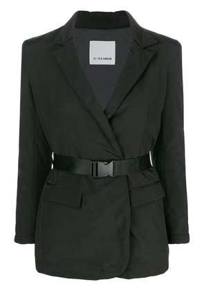 Pinko buckled waist blazer - Black