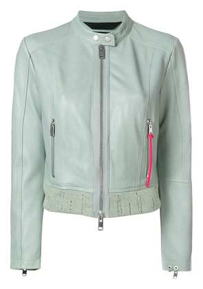 Diesel zipped fitted jacket - Green