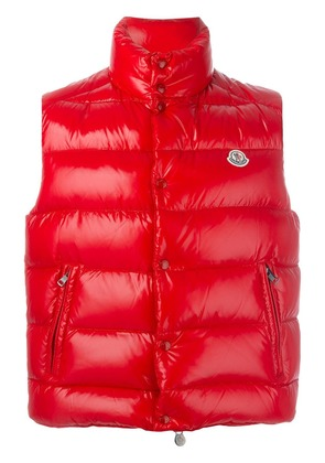 Moncler Tib padded gilet - Red