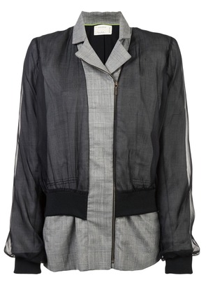 Nicole Miller front zipped jacket - Grey