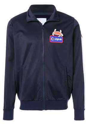 Au Jour Le Jour For Colmar Nemo patch lightweight jacket - Blue