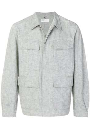 Universal Works Fatigue shirt jacket - Grey