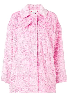Vivetta Hayez textured jacket - Pink & Purple