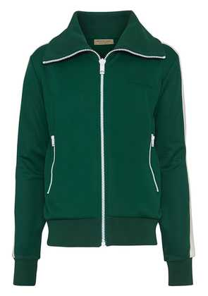 Burberry Stripe Detail Jersey Track Top - Green