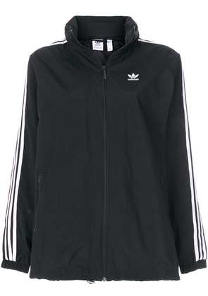 Adidas Adidas Originals 3-Striped windbreaker jacket - Black