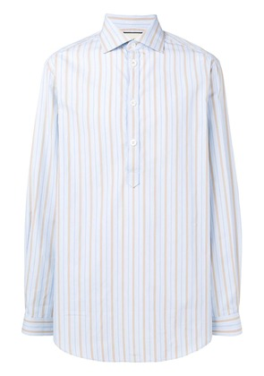 Gucci pinstripes shirt - Blue