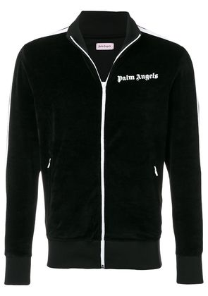 Palm Angels velvet track jacket - Black