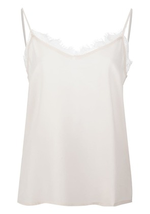 Anine Bing lace insert cami top - Nude & Neutrals