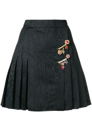 Dolce & Gabbana pleated mini skirt - Black