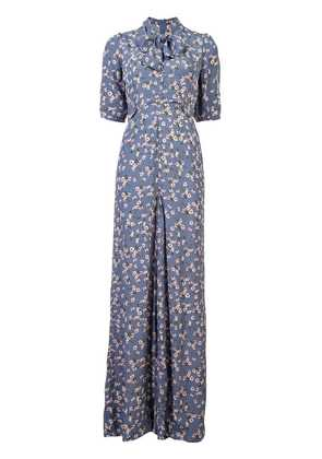 By Timo Printed Daffodils Jumpsuit - Black