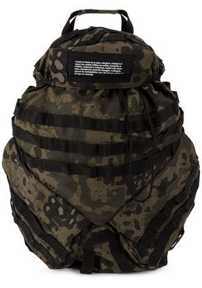 Julius camouflage backpack - Green