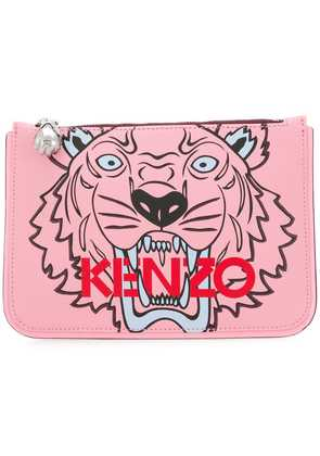 Kenzo KENZO F862PM611F02 34 ROSE CLAIR Leather/Fur/Exotic