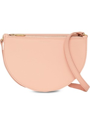 Burberry The Small Patent Leather D Bag - Pink & Purple